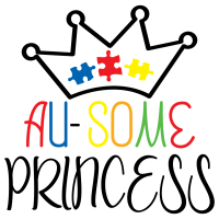 Quote Au Some Princess SVG