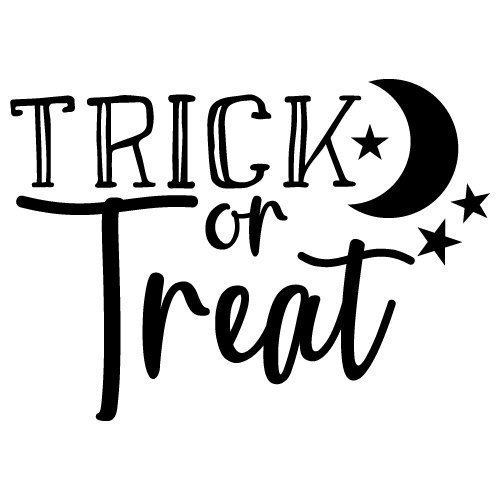Quote Trick Or Treat SVG