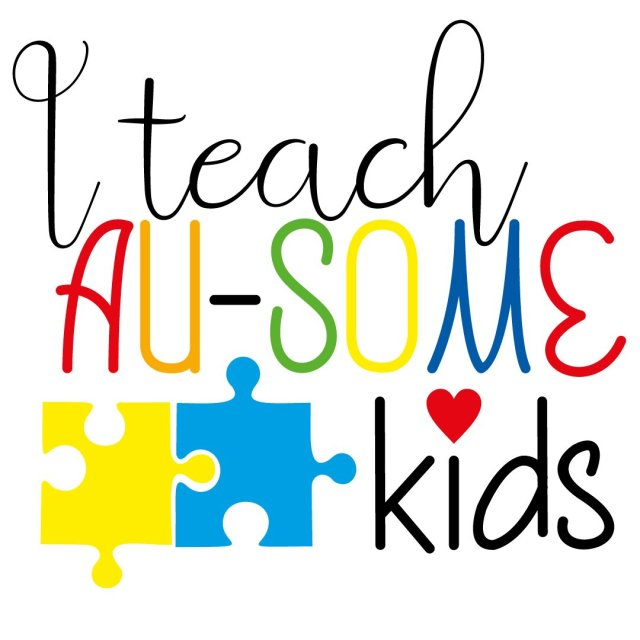 Quote I Teach Au-some Kids SVG