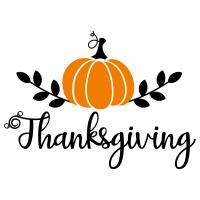 Quote Thanksgiving Pumpkin SVG