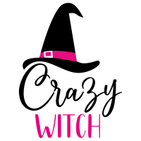 Quote Crazy Witch SVG