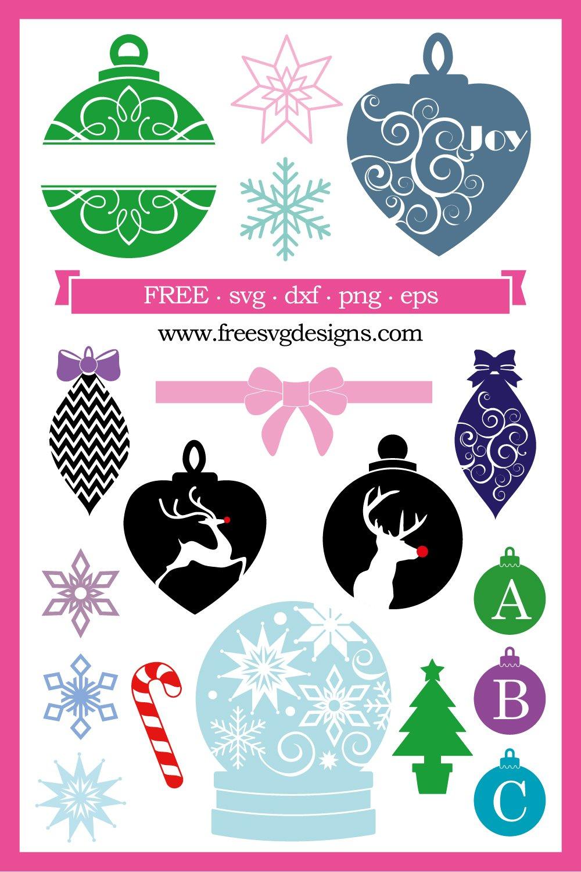 Free Christmas Svg Cutting Files : christmas, cutting, files, Christmas, Designs, Personal, Cutting, Projects.