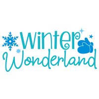 Quote Winter Wonderland SVG