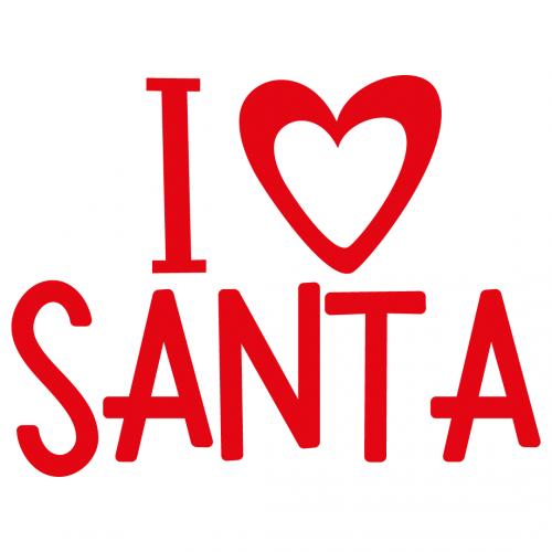 Download Free SVG Files | SVG, PNG, DXF, EPS | I Love Santa