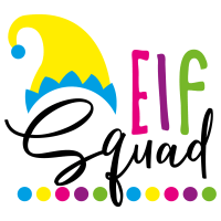 Quote Elf Squad SVG