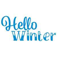 Quote Hello Winter SVG