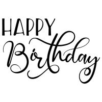 Quote Happy Birthday SVG
