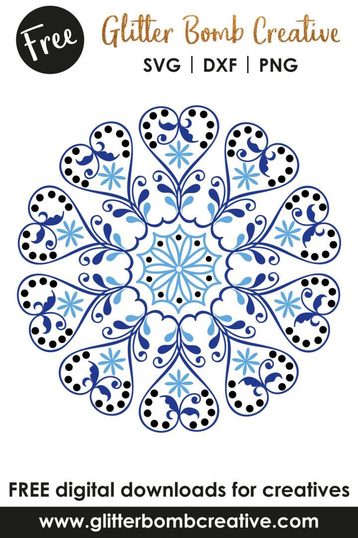 Mandala Svg Free Download : mandala, download, Mandala, Files, Designs