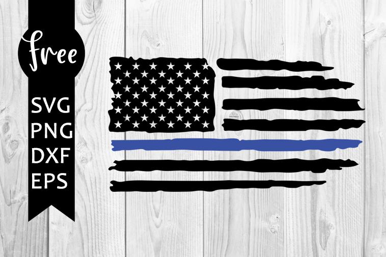 Download American flag svg free, blue line svg, police svg, instant ...