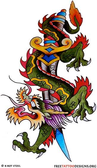 Dragon Tattoo Flash : dragon, tattoo, flash, Dragon, Tattoos