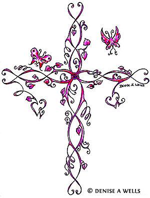 Feminine Celtic Cross Tattoo : feminine, celtic, cross, tattoo, Cross, Tattoos, Tattoo, Designs, Christian,, Celtic, Tribal, Crosses