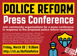 Buffalo Police Reform Protest