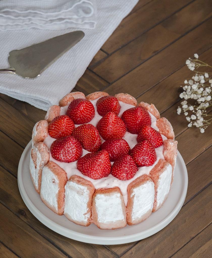 Une recette de charlotte aux fraises comme quand on était petits !