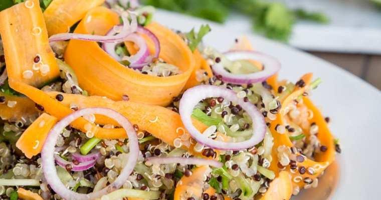 Salade Fraîche Quinoa Coriandre