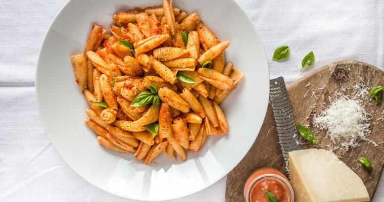 Sauce aux Poivrons Rouges (Vegan)