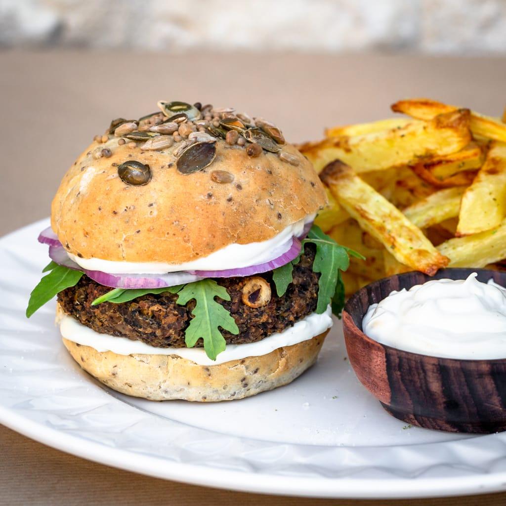 Patties Shitaké Pois Chiches – Burger Vegan