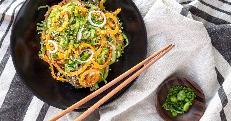 Wok de Nouilles de Légumes