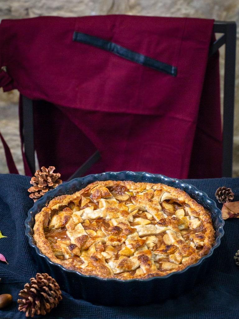 Une recette de pie (ou tourte) classique à la pomme, idéale pour se régaler cet automne.