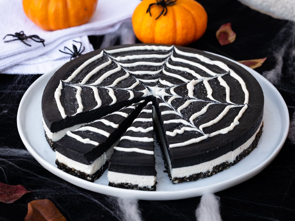 Cheesecake Double Chocolat Vegan