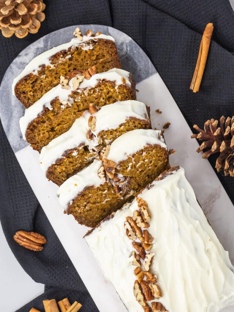 Une recette de Carrot Cake au potimarron et aux épices pour un résultat hyper moelleux !