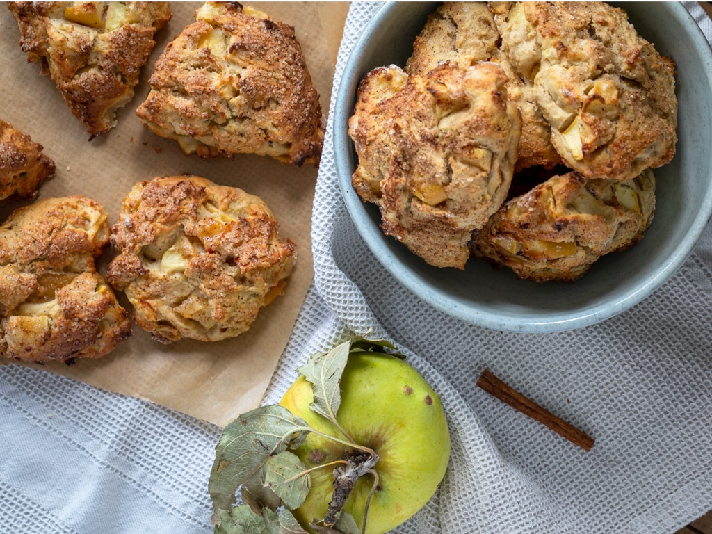 Scones Pommes Cannelle