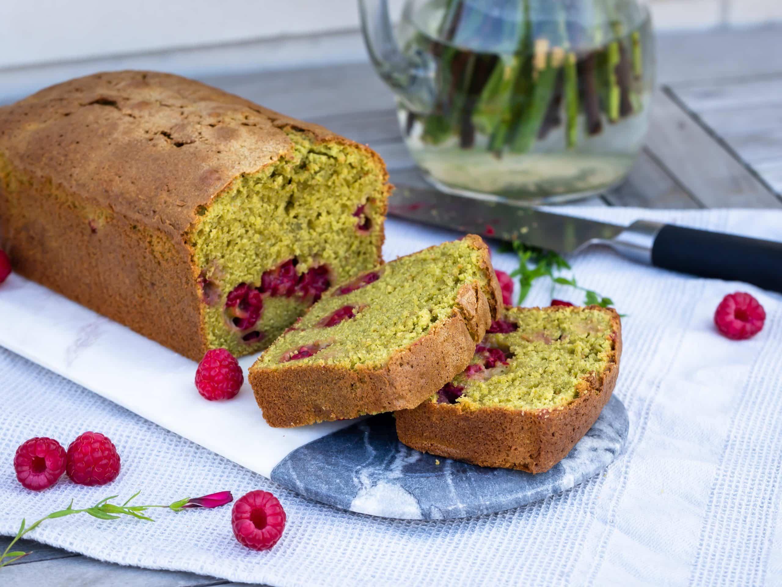 Cake Matcha Framboise