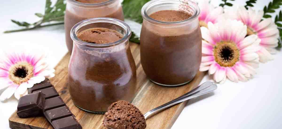 Mousses au Chocolat Véganes