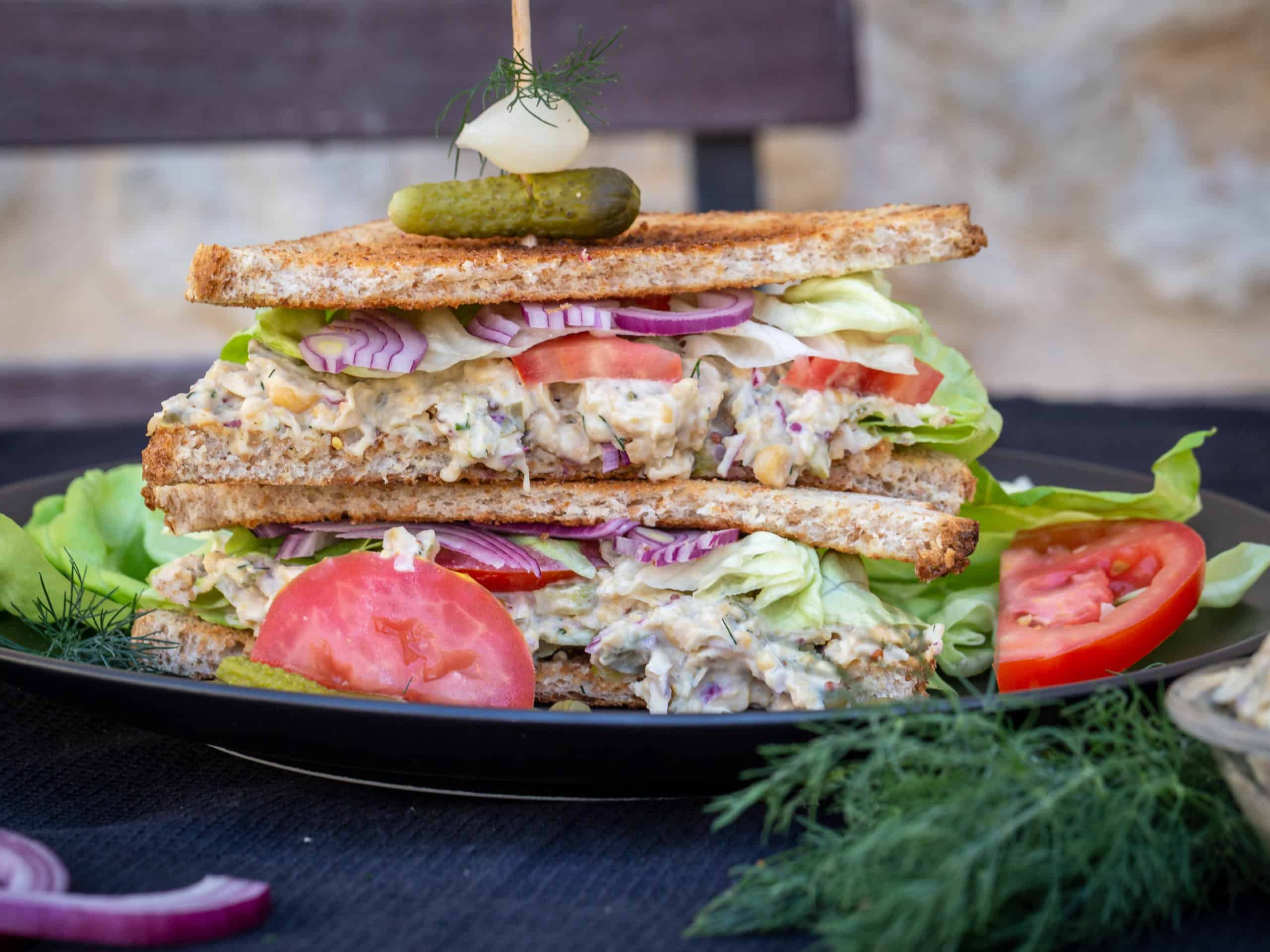 Club Sandwich Vegan façon thon/mayo
