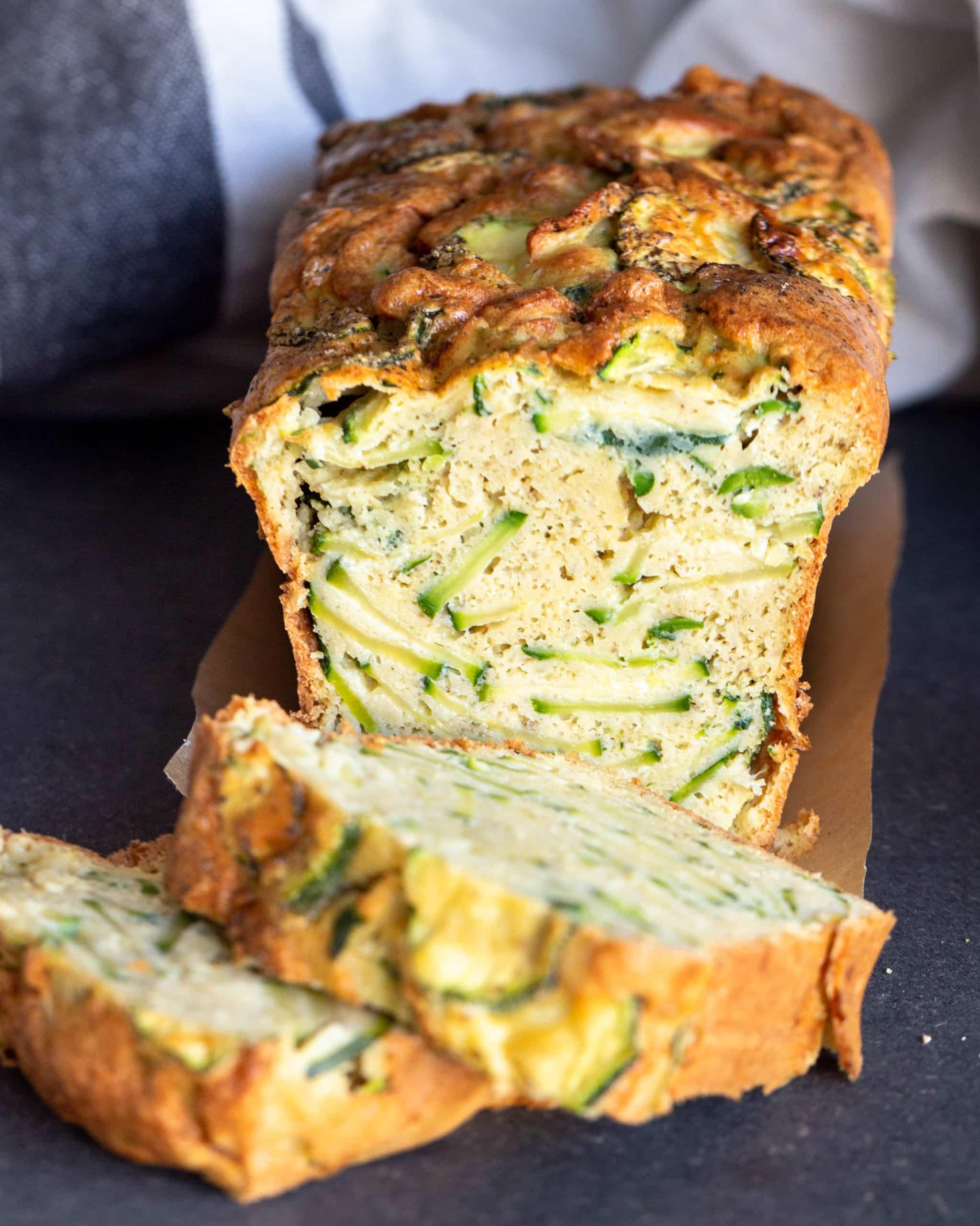 Cake Courgettes Cumin (Sans Gluten)