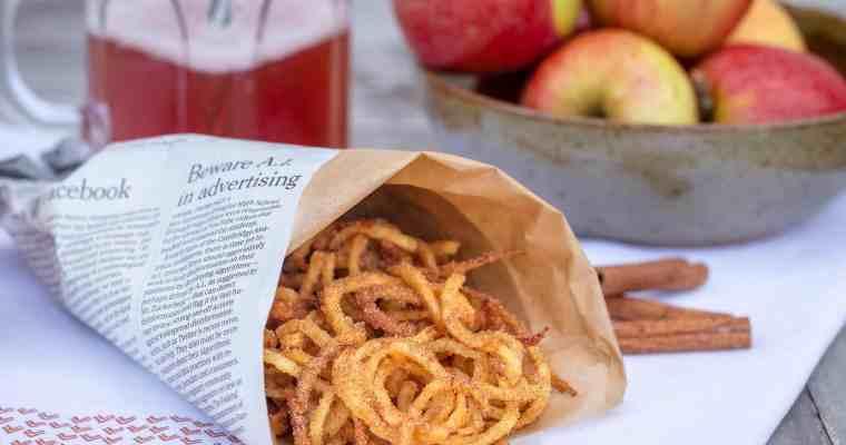 Churripom' Cannelle (Frites de Pommes Spiralisées)