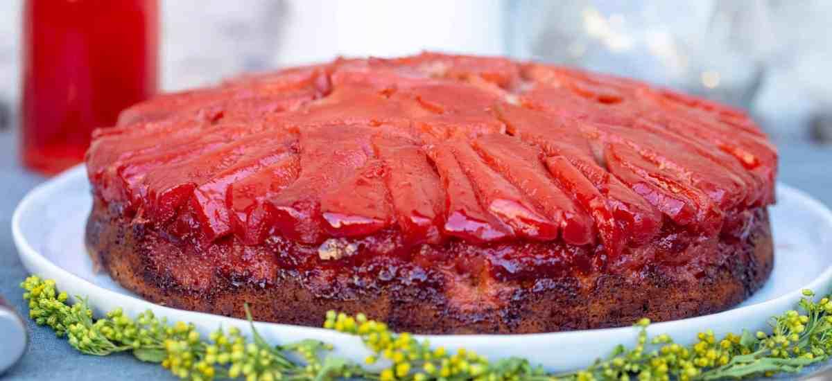 Gâteau Renversé Coings Epices