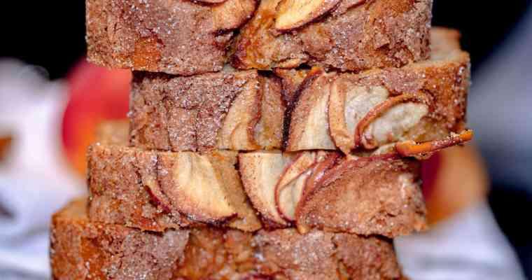 Cake Pomme Cannelle façon Pudding