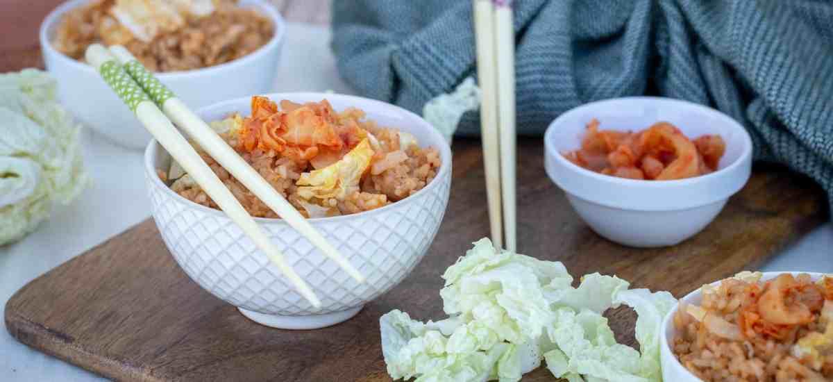 Riz au Kimchi (Vegan, Sans Gluten)