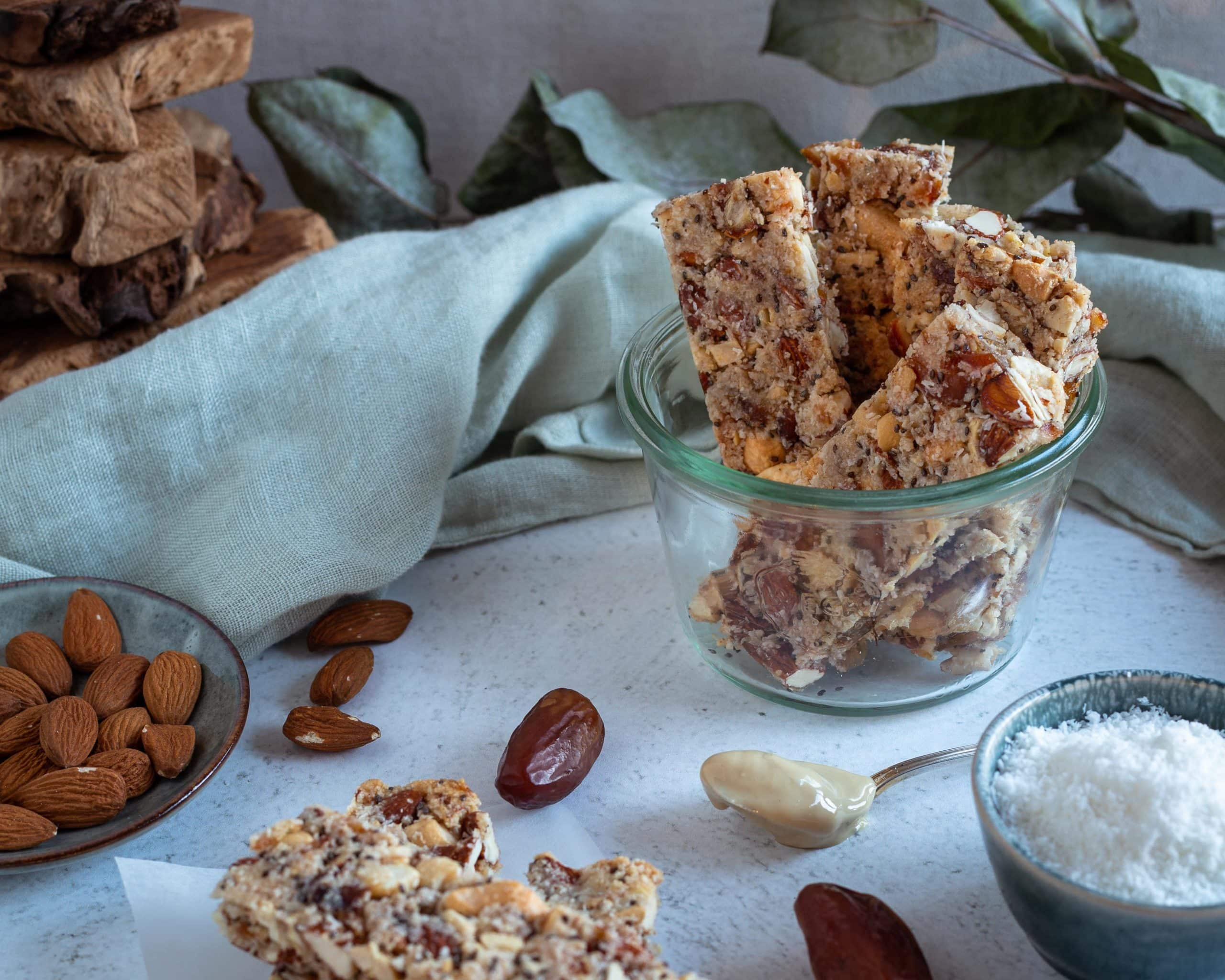 Barres Cajou Coco (Véganes et Sans gluten)