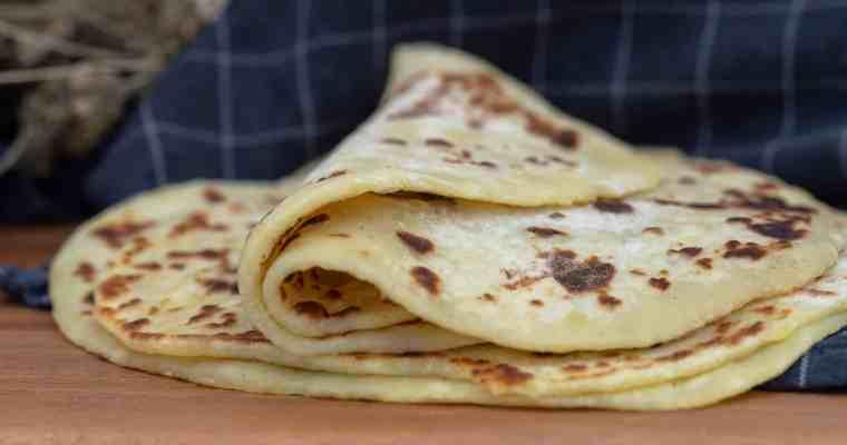 Tortillas à la Pomme de Terre (Vegan)