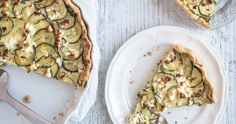 Quiche Courgettes Fêta