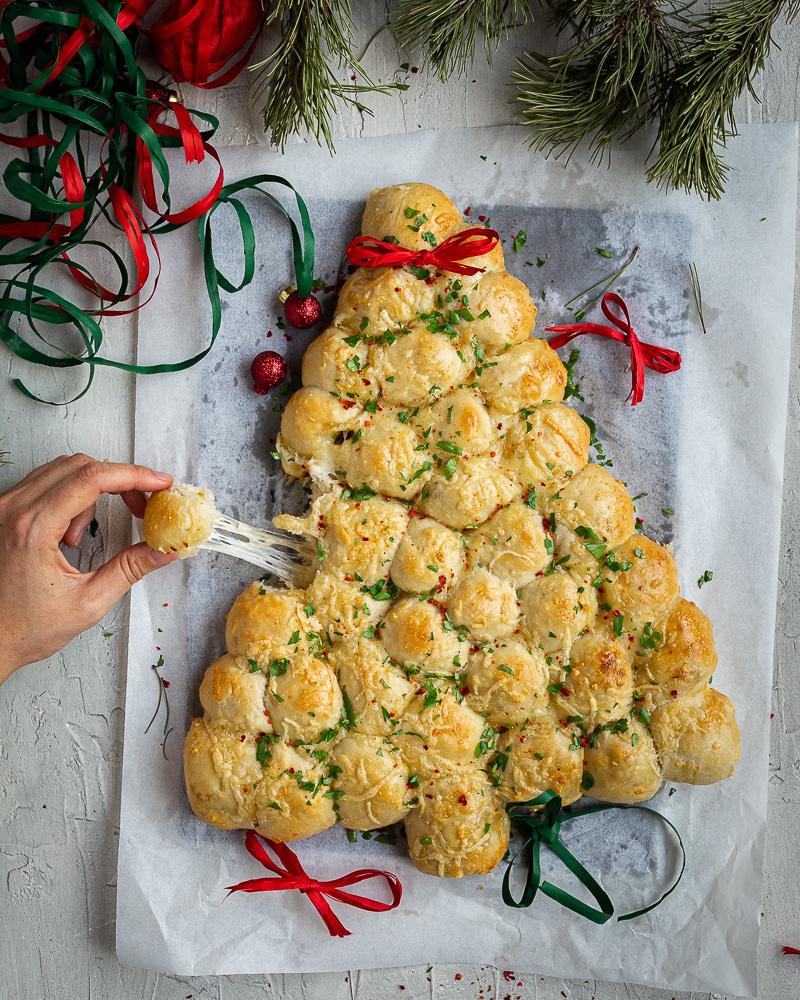 Sapin de Noël aux Fromages à Fondue