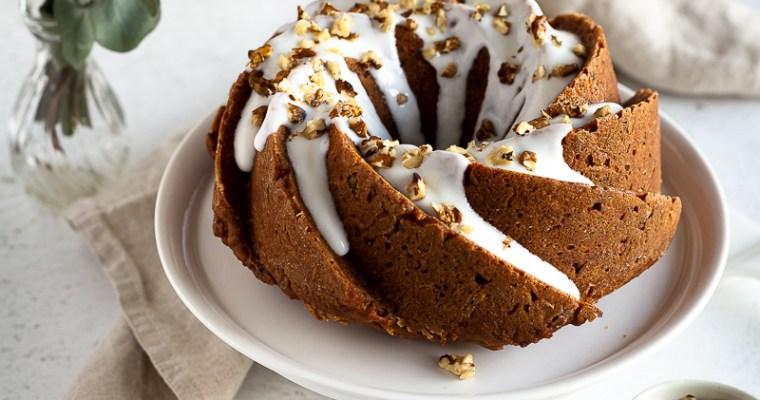 Carrot Cake façon Bundt (Vegan et Sans Gluten)