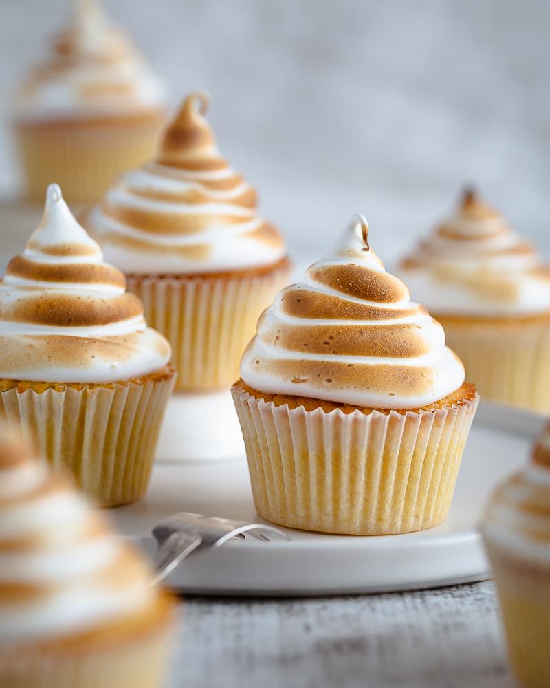 Cupcakes Citron Meringués