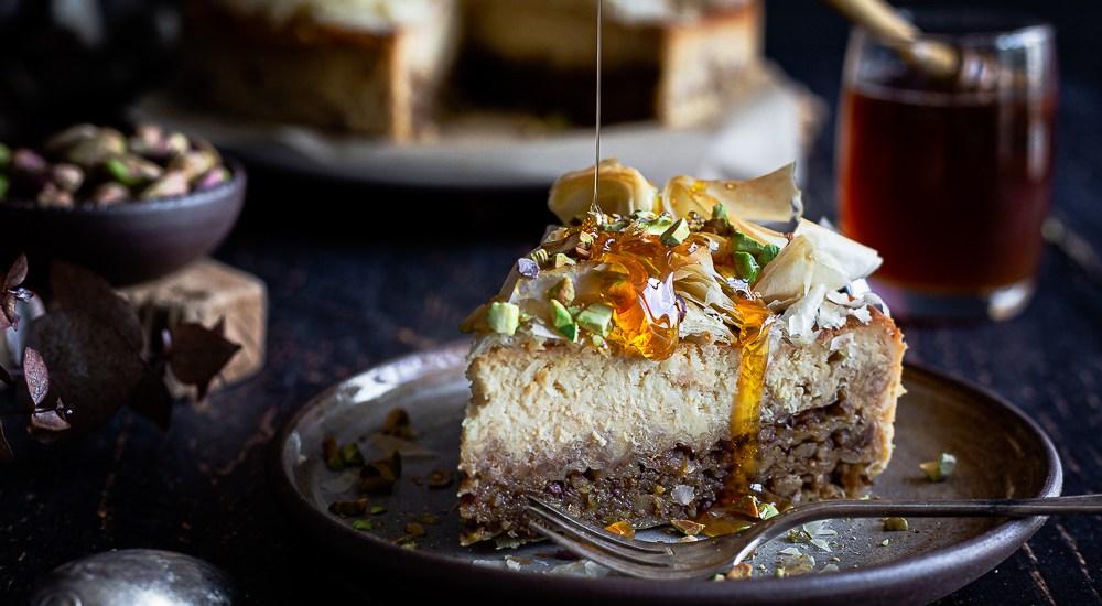 Cheesecake façon Baklava