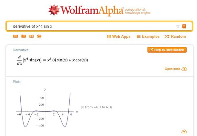 Click to try the Wolfram Alpha Computational Engine
