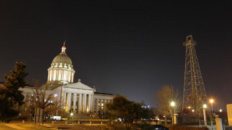 The Oklahoma State Capitol. (KOKH/Keaton Fox)