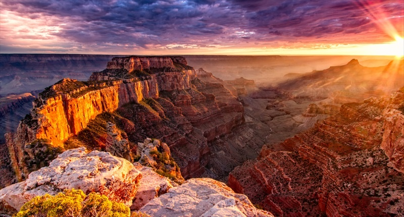 'North Rim Grand Canyon Cape Royal' [Shutterstock]