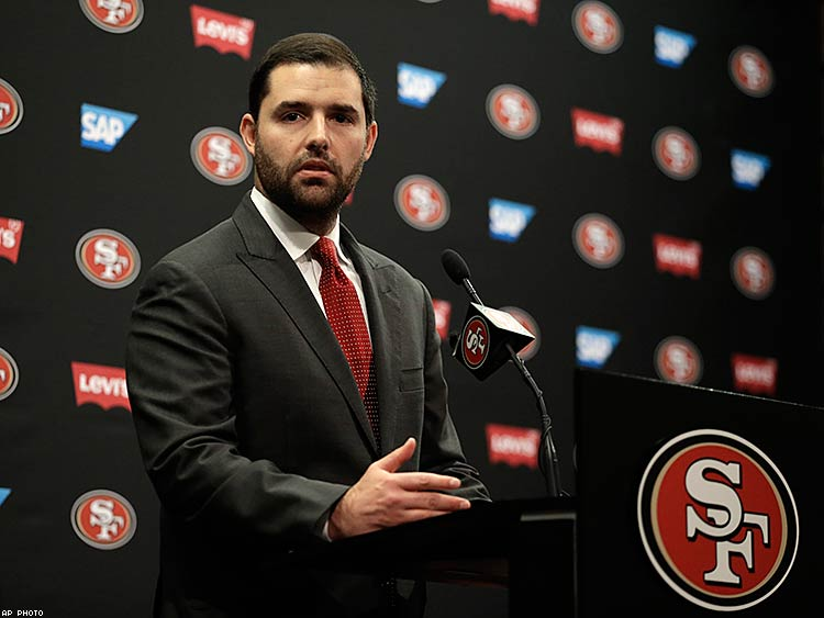 "Jed York, The CEO of the 49ers called HB 2 ""bad for our employees, bad for our fans, and bad for business."""