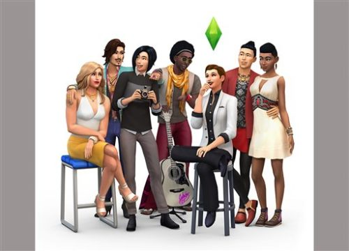 "This image released by Electronic Arts shows the new diverse characters that will be available on ""The Sims 4"" the latest edition of ""The Sims"" video game. (Electronic Arts via AP)"