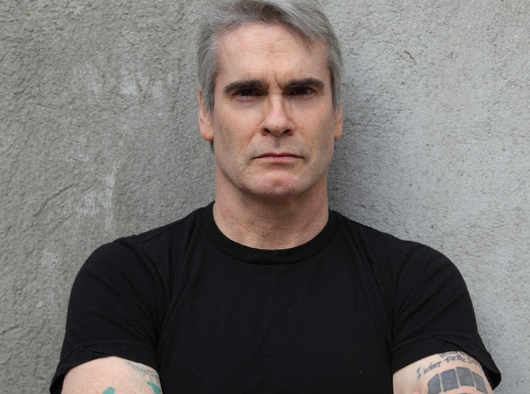Henry Rollins. Credit: Heidi May.