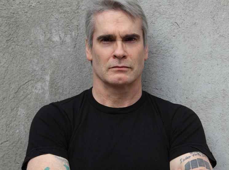 Henry Rollins. Credit: Heidi May.