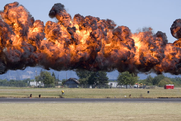 KA-BOOM! Oh, it's only 2pm? (iStock)