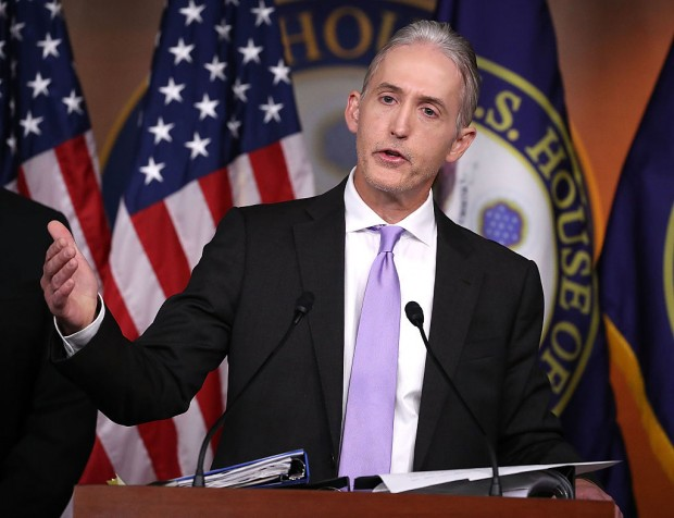 Trey Gowdy. Mark Wilson/Getty Images.