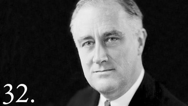 Franklin Delano Roosevelt. Whitehouse.gov.